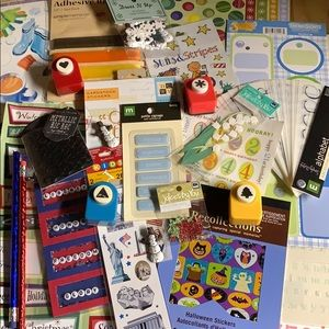 Miscellaneous scrapbooking/ craft items